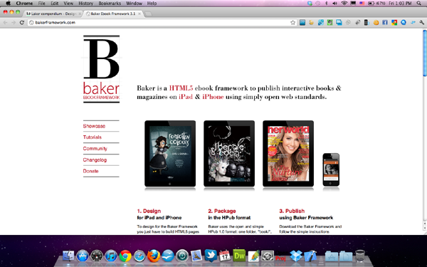 HTML5 Digital Book จาก Baker Framework