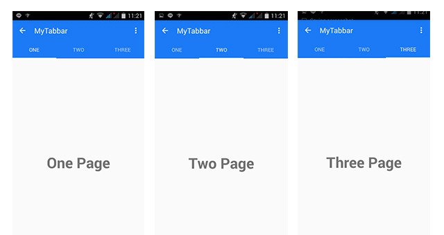 Photo of Material Design สำหรับ Android การสร้าง Tab และ Fragment