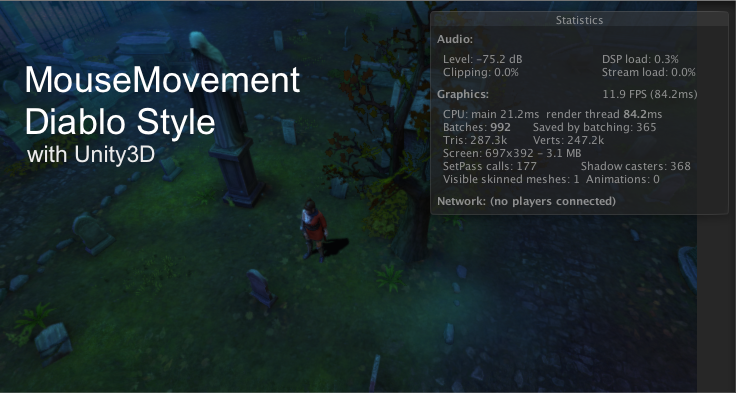 Photo of Point-Click Movement แบบเกม Diablo ด้วย Mouse บน Unity